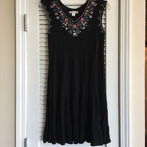 Women's Knit Works Embroidered Dresses SZ 16